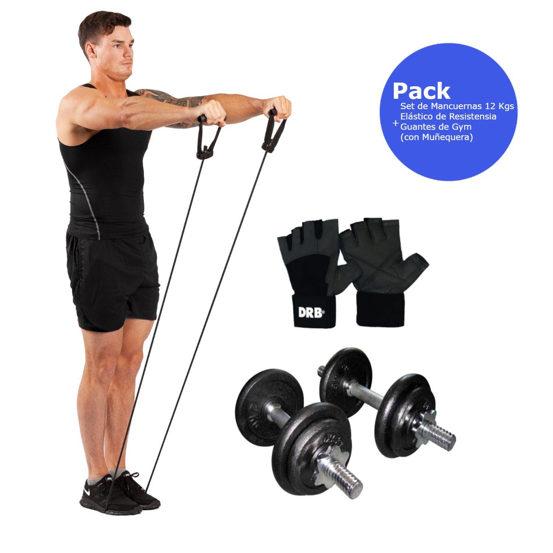 Unisex Adulto Gym Stick Pro PU Par de Mancuernas